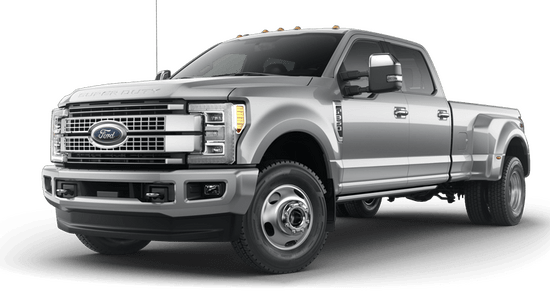 F-350 Super Duty DRW Platinum 4x4 Crew Cab w/ 8' Box