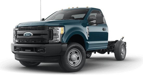 F-350 Super Duty SRW Chassis XL 4x4 Regular Cab