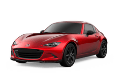 New Mazda MX-5 Miata RF at Carlsbad