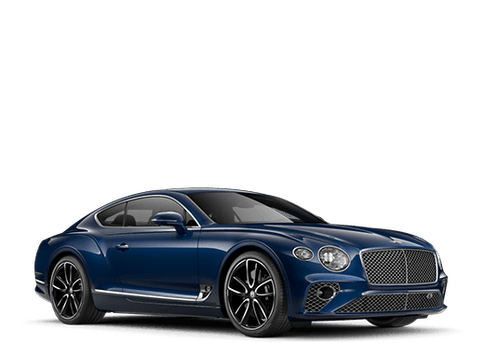 New Bentley Continental GT V8 in San Francisco