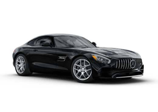New Mercedes-Benz AMG GT near Greenland