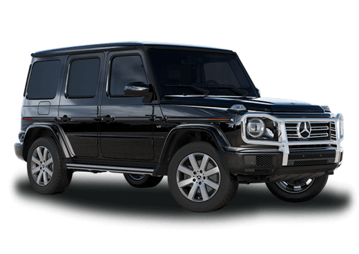 New Mercedes-Benz G-Class near Greenland