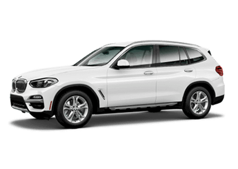 New BMW X3 in Miami