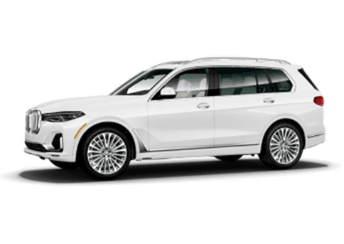 New BMW X7 in