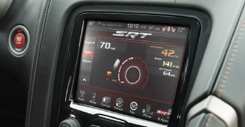 8.4-Inch Touchscreen