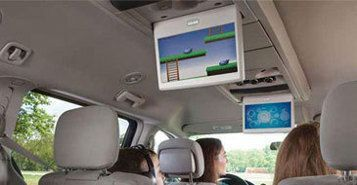 Dual-Screen Entertainment System