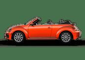 New Volkswagen Beetle Convertible at Bakersfield