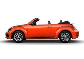 New Volkswagen Beetle Convertible at Sheboygan