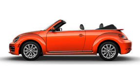New Volkswagen Beetle Convertible at Chattanooga