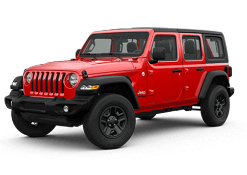 New Jeep Wrangler Unlimited in Calgary