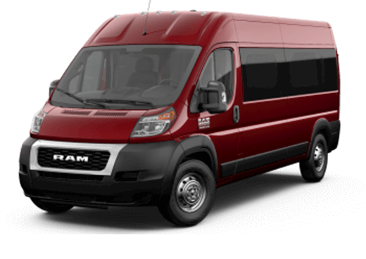 ProMaster Cargo Van 2500 Window Van High Roof 159WB