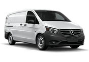 New Mercedes-Benz Metris Cargo Van at Long Island City