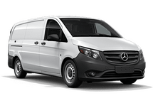 New Mercedes-Benz Metris Cargo Van at Bellingham