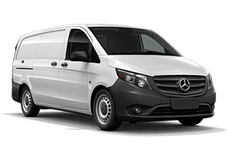 New Mercedes-Benz Metris Cargo Van at Kansas City