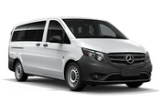New Mercedes-Benz Metris Passenger Van at Long Island City
