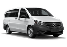 New Mercedes-Benz Metris Passenger Van at Salisbury