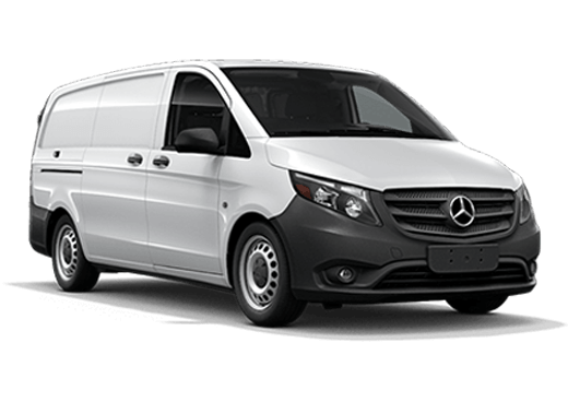 New Mercedes-Benz Metris near Greenland