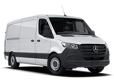 New Mercedes-Benz Sprinter 4500 at San Juan