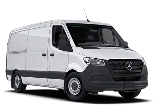 New Mercedes-Benz Sprinter 4500 near Greenland