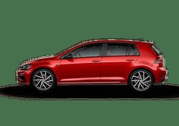 New Volkswagen Golf R at Everett