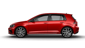 New Volkswagen Golf R at Chattanooga