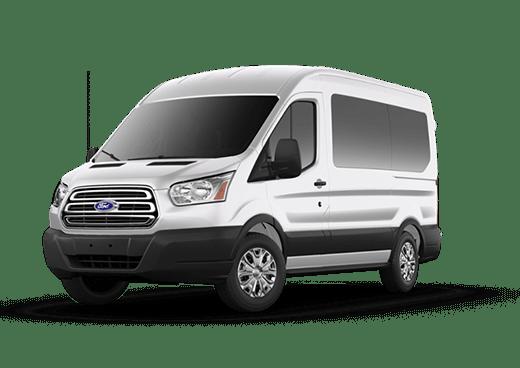 Transit Passenger Wagon XLT Medium Roof Passenger Van