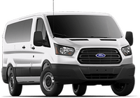 New Ford Transit Passenger Wagon at Kalamazoo