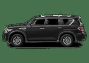 New Nissan Armada at Wilkesboro