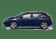 New Nissan LEAF at Wilkesboro