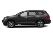 New Nissan Pathfinder at Wilkesboro