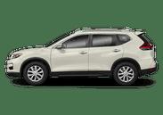 New Nissan Rogue at Wilkesboro
