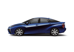 New Toyota Mirai at Birmingham