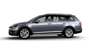 New Volkswagen Golf Alltrack at Chattanooga