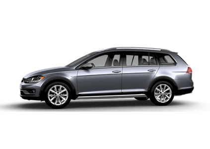 New Volkswagen Golf Alltrack at Miami