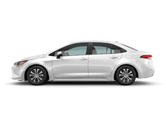 New Toyota Corolla Hybrid at Green Bay