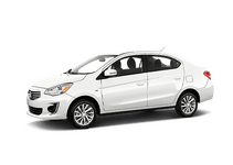 New Mitsubishi Mirage G4 at Fairborn