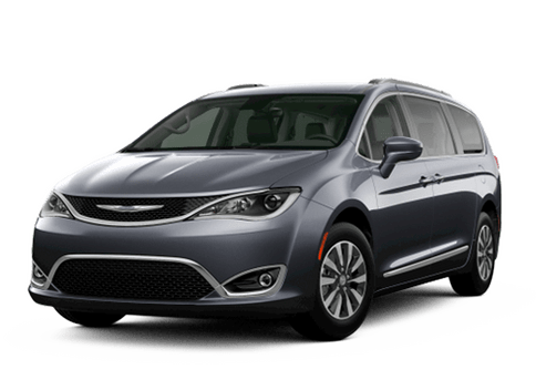 New Chrysler Pacifica in