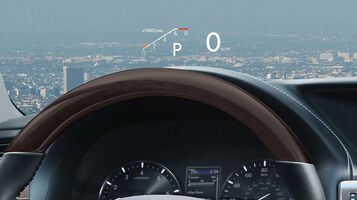 Color Heads Up Display