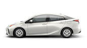 New Toyota Prius at Vacaville