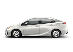 New Toyota Prius at Green Bay