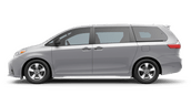 New Toyota Sienna at Vacaville
