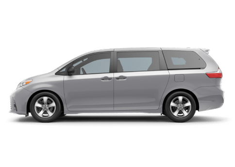 New Toyota Sienna in
