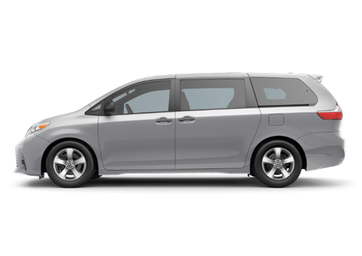 New Toyota Sienna near Salinas