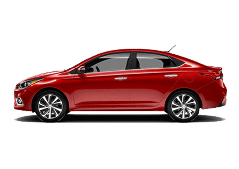 New Hyundai Accent in San Sebastian