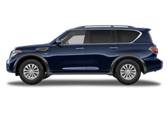 New Nissan Armada at Dayton
