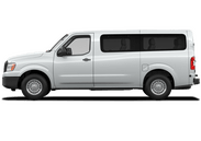 New Nissan NV Passenger at Wilkesboro