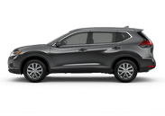 New Nissan Rogue at Wilkesboro