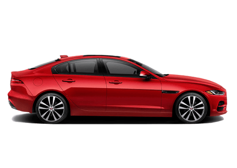 New Jaguar XE in Cary