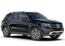 New Mercedes-Benz GLE at Harlingen