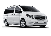 New Mercedes-Benz Metris Passenger Van at Oshkosh